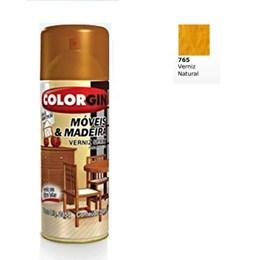 Verniz Spray Móveis e Madeira Natural Brilhante [ 765 ] - Colorgin